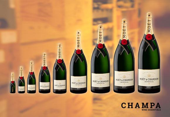 Champagner Großflaschen Spezialist